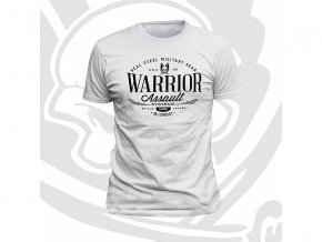 Triko WARRIOR ASSAULT SYSTEMS Vintage T-Shirt - White