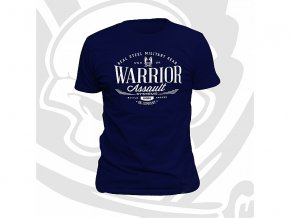 Triko WARRIOR ASSAULT SYSTEMS Vintage T-Shirt - Navy
