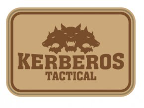 Gumová velcro nášivka KERBEROS TACTICAL