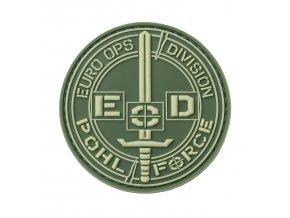 Nášivka POHL FORCE 3D Rubber Patch EOD Gen2