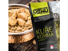 Hotové jídlo ADVENTURE MENU Kuře Korma s rýží