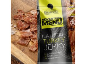 Sušené maso ADVENTURE MENU Turkey Jerky 25 g