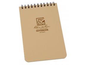 Voděodolný zápisník RITE IN THE RAIN Pocket Notebook 4/6