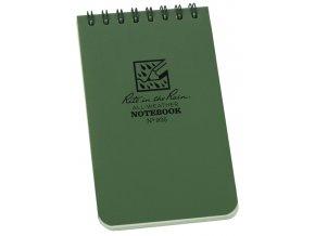 Voděodolný zápisník RITE IN THE RAIN Pocket Notebook 3/5