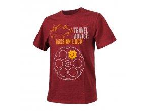 Triko HELIKON Travel Advice Russian Luck