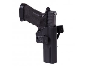 Pouzdro HELIKON Release Button Holster for Glock 17 with Molle Attachment