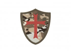 Nášivka CLAWGEAR Crusader Shield Patch