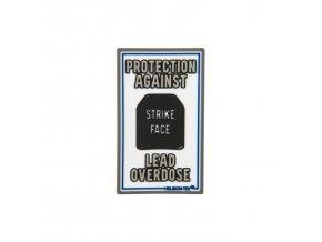 """Gumová nášivka HELIKON """"Lead Overdose"""" Rubber Patch"""