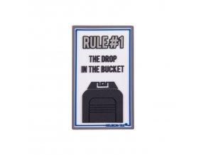 """Gumová nášivka HELIKON """"Rule#1"""" Rubber Patch"""