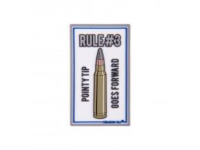 """Gumová nášivka HELIKON """"Rule#3"""" Rubber Patch"""