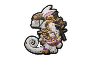 """Gumová nášivka HELIKON """"Chameleon Easter Operator"""" Rubber Patch"""