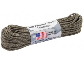 Paracord ATWOOD ROPE 550 lbs. 100 ft.