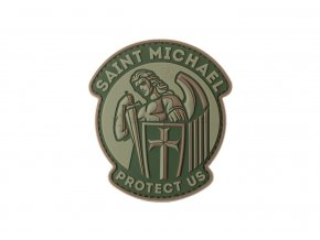 Gumová velcro nášivka JTG Saint Michael