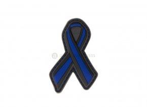 Gumová velcro nášivka JTG Thin Blue Line Ribbon