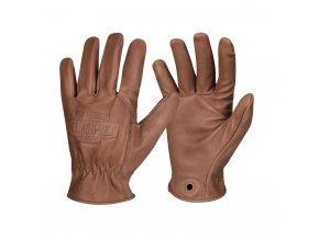Kožené bushcraft rukavice HELIKON Lumber
