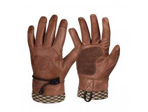 Kožené bushcraft rukavice HELIKON Woodcrafter