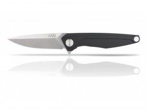 Zavírací nůž ANV KNIVES Z300 - Frame Lock, Plain Edge, Dural