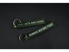Klíčenka ANV KNIVES Remove Before Fight