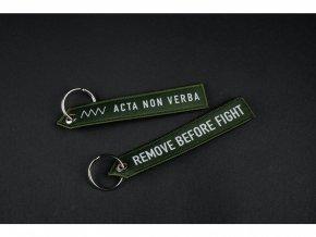 Klíčenka ANV KNIVES Remove Before Fight
