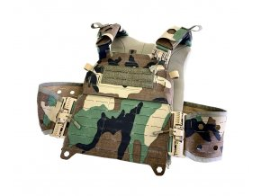 Nosič plátů CUSTOM GEAR Plate Carrier 3 QTS