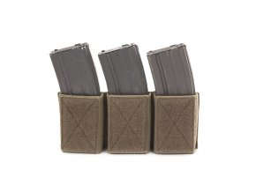 Velcro sumka na zásobníky WARRIOR ASSAULT SYSTEMS Triple Velcro Mag Pouch