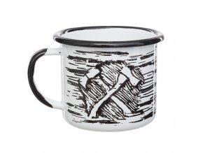 Plechový hrnek HELIKON Axe Enamel Mug