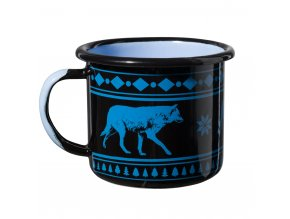 Plechový hrnek HELIKON Wolf Enamel Mug