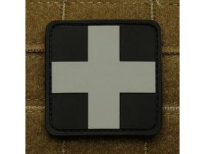 Gumová velcro nášivka JTG Red Cross
