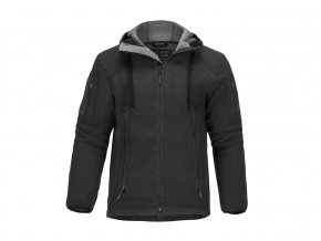 Fleecová bunda CLAWGEAR Milvago Fleece Hoody - Black