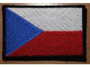 Velcro nášivka vlajka ČR