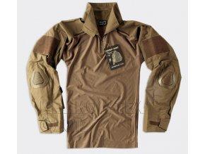 Taktická košile UBACS HELIKON - COMBAT SHIRT - Coyote Brown
