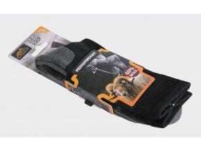 Ponožky HELIKON MEDIUMWEIGHT - Black