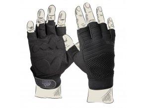 Taktické rukavice HELIKON HFG - Black