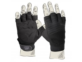 Rukavice HELIKON Half Finger Gloves