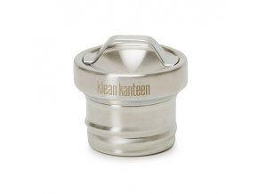 Uzávěr KLEAN KANTEEN All Stainless Loop Cap - Brushed Stainless