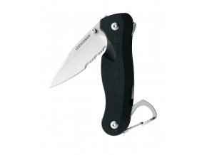 Zavírací nůž LEATHERMAN CRATER® C33LX - 1/3 seratované otří