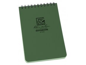 Voděodolný zápisník RITE IN THE RAIN Pocket Notebook 4/6