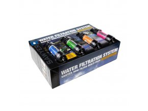 Vodní cestovní filtr SAWYER Mini Water Filter - COLOR Multipack 4ks