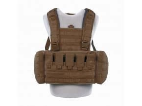Hrudní nosič TASMANIAN TIGER Chest Rig Mk II M4 - Coyote Brown
