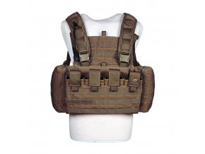 Hrudní nosič TASMANIAN TIGER Chest Rig Mk II - Coyote Brown