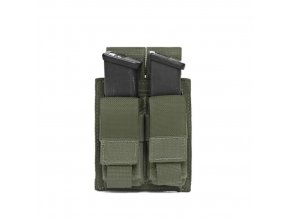 Sumka na zásobníky Warrior Assault Systems Direct Action Double DA 9mm Pistol Pouch - Olive Drab
