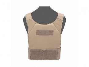Nosič plátů WARRIOR ASSAULT SYSTEMS Covert Plate Carrier - Coyote Tan
