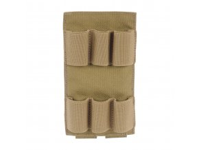 Panel na brokové náboje TASMANIAN TIGER 6RD Shotgun Holder - Khaki