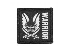Velcro nášivka WARRIOR ASSAULT SYSTEMS Patch Black