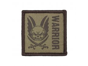 Velcro nášivka WARRIOR ASSAULT SYSTEMS Patch Dark Earth