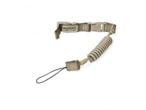 Pojistná šňůra na zbraň WARRIOR ASSAULT SYSTEMS Tactical Pistol Lanyard - Coyote Tan