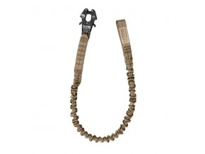 Jistící popruh WARRIOR ASSAULT SYSTEMS Personal Retention Lanyard - Coyote Tan
