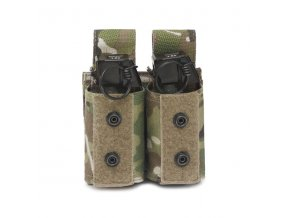 Sumka na dva granáty nebo dýmovnice Warrior Assault Systems Double 40mm Grenade - MultiCam