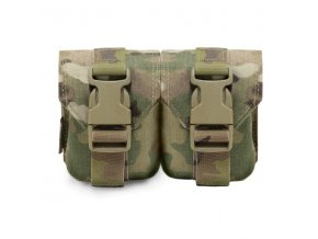 Sumka na dva granáty Warrior Assault Systems Double Frag Grenade Pouch Gen 2 - MultiCam