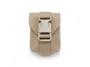Sumka na granát WARRIOR ASSAULT SYSTEMS Single Frag Grenade Pouch Gen 2 - Coyote Tan